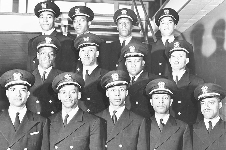 The Golden Thirteen, the first African-American officers in U.S. Navy