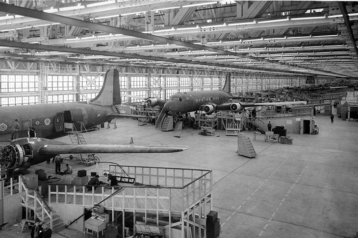 Douglas Chicago Aircraft Assembly Plant (interior)