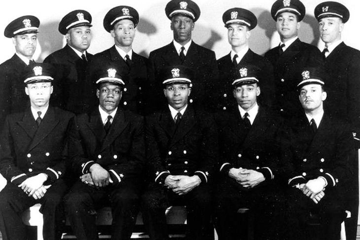 The Golden Thirteen, the  U.S. Navy's first black officers